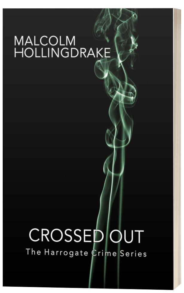 Crossed Out - Malcolm Hollingdrake - 3D Book Cover