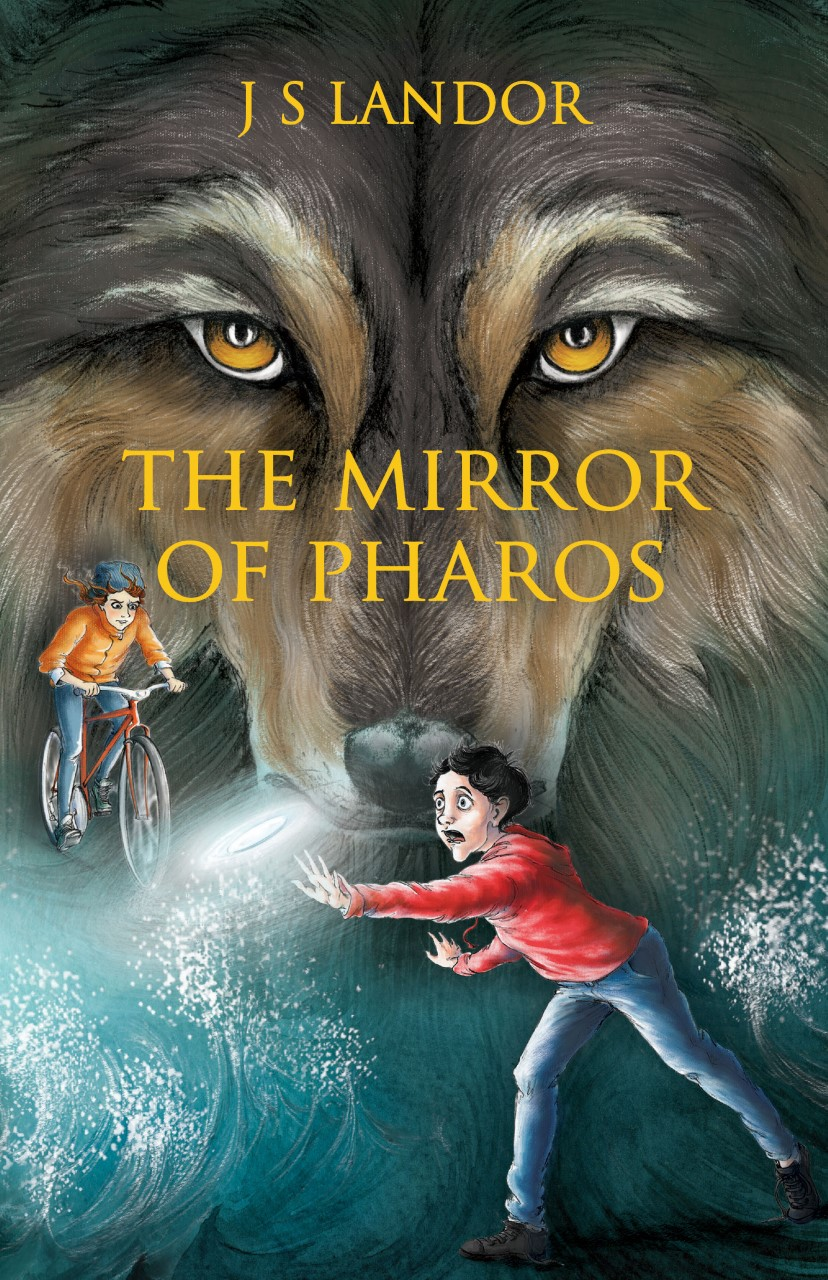 The Mirror of Pharos - J.S. Landor - Book Cover