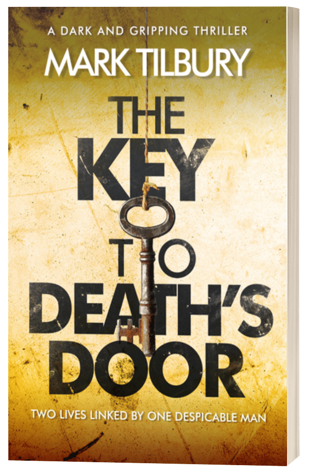 The Key to Death's Door - Mark Tilbury - 3D book cover