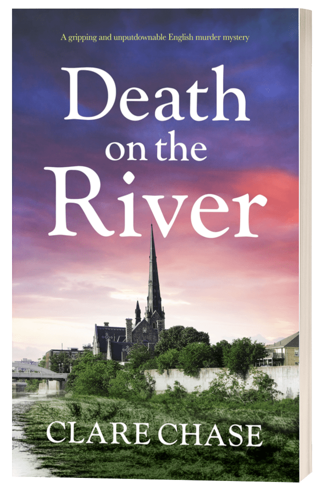 Death on the River - Clare Chase - 3D Book Cover