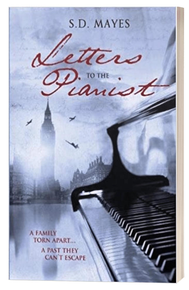 Letters to the Pianist - S.D. Mayes - 3D book cover