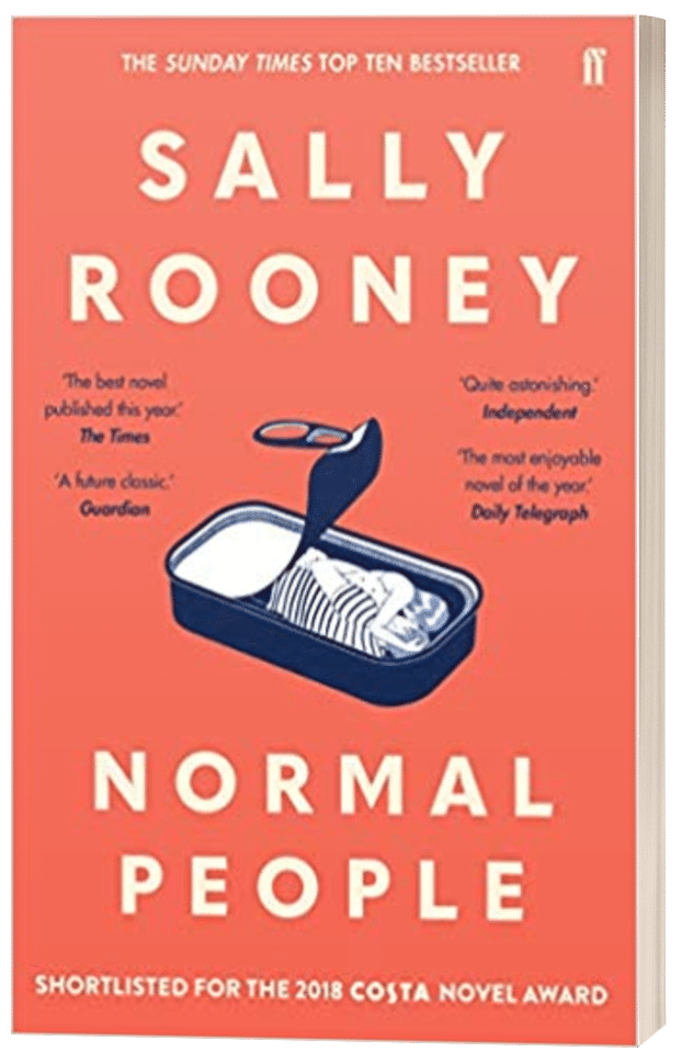 Normal People - Sally Rooney - 3D book cover