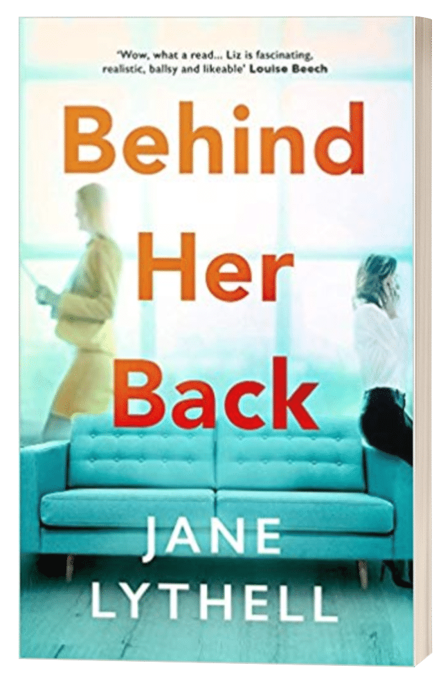 Behind Her Back - Jane Lythell - 3D book cover