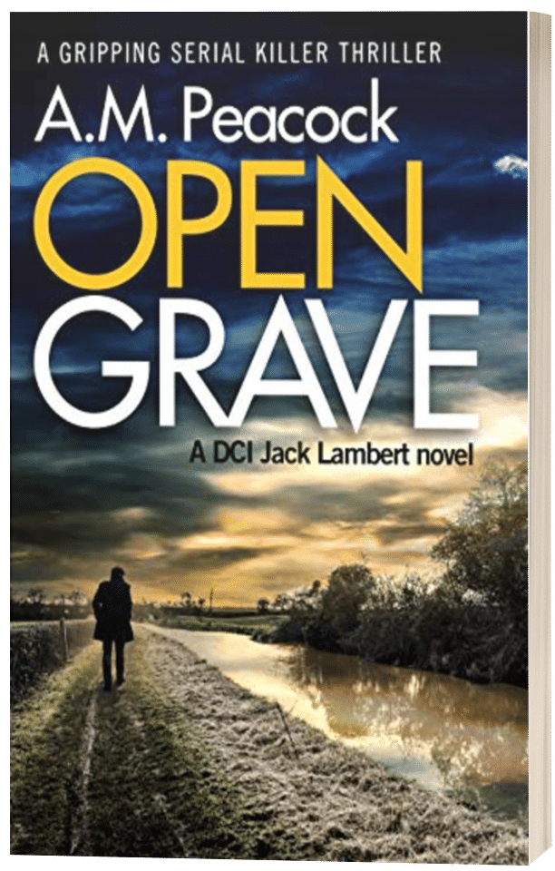 Open Grave - A.M. Peacock - 3D book cover