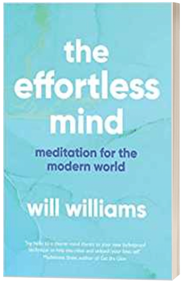 The Effortless Mind - Will Williams - 3D book cover