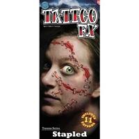 stapled