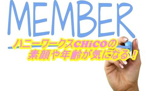CHiCOの顔画像がかわいい?ハニーワークスのメンバーの年齢や経歴も調査!