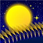 中秋の名月はいつ?ススキと団子を供える意味と十五夜・十三夜の違いを確認!