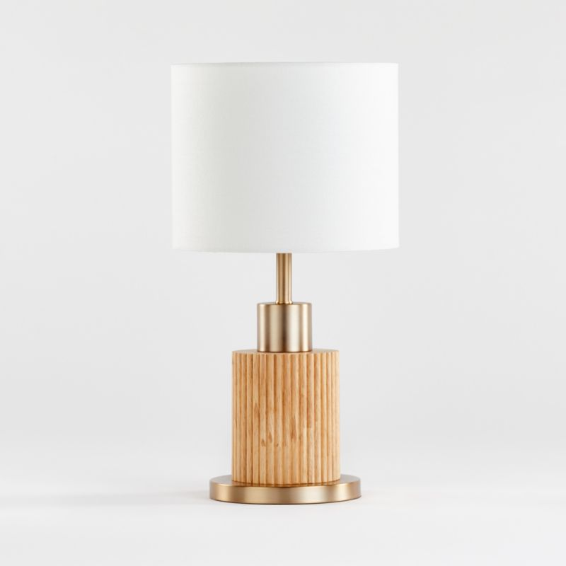 bridaine table lamp reviews crate and barrel