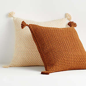 throw blankets and sofa pillows crate
