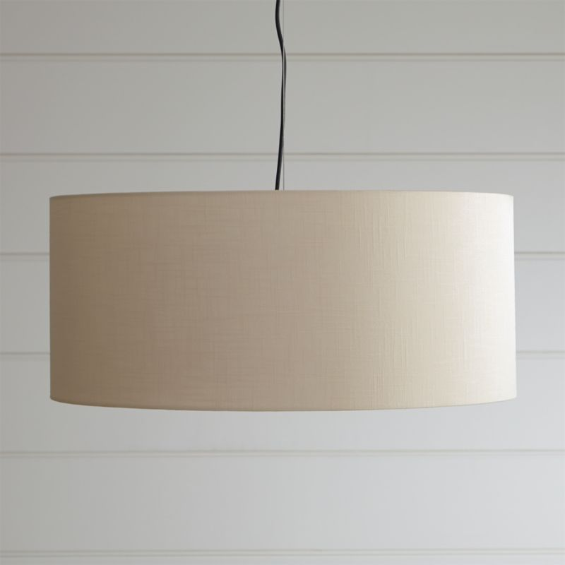 finley large wheat pendant light reviews crate and barrel