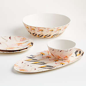melamine dinnerware for outdoor dining