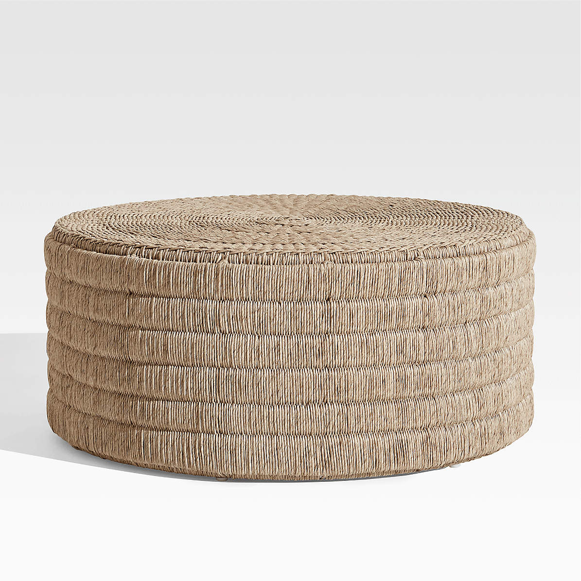 madura woven outdoor coffee table
