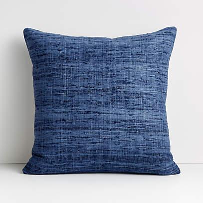 trevino 20 blue pillow cover