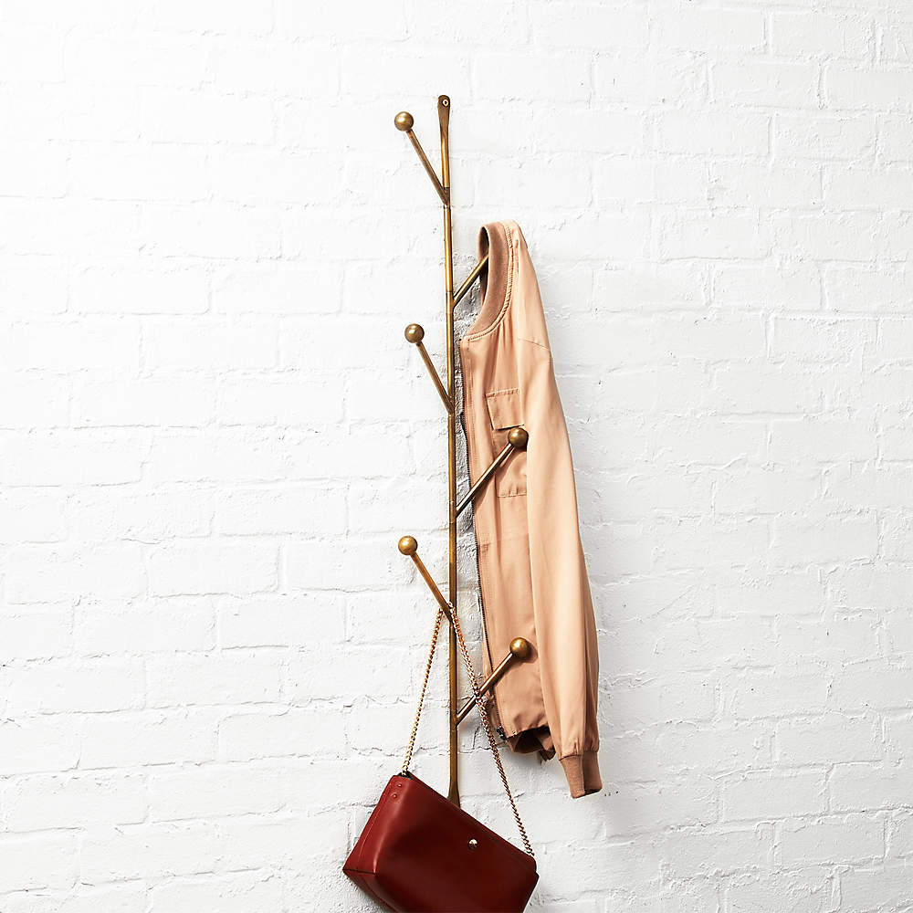 Shop CB2 Canada to get the effortlessly on-trend look youre craving. Barker Vertical Wall Mounted Coat Rack Reviews Cb2