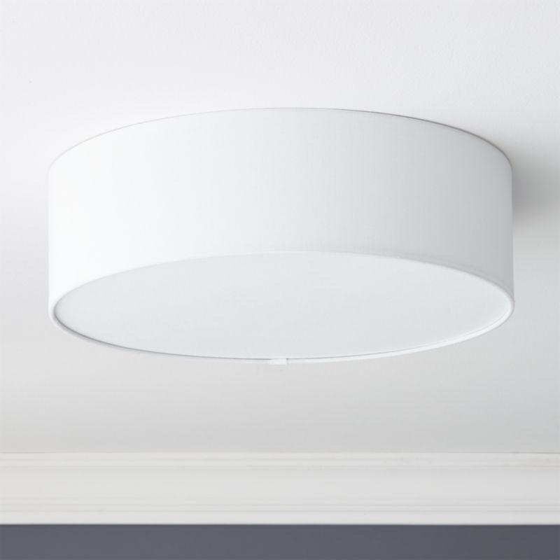 drum flush mount light 19 75 reviews cb2 canada