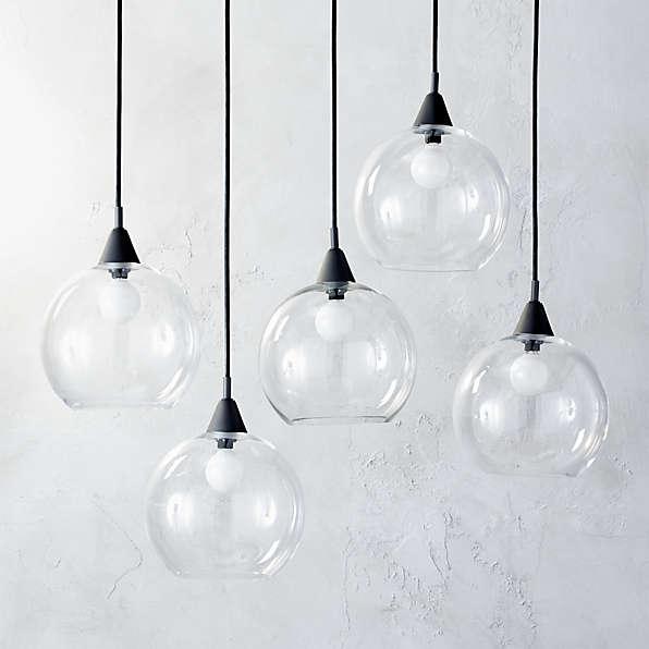 modern pendant lights chandeliers cb2