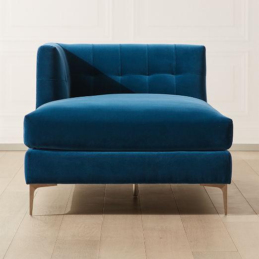 modern chaise lounge cb2