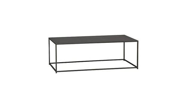mill iron coffee table + reviews | cb2