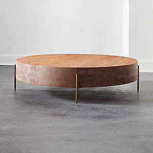 round coffee tables cb2