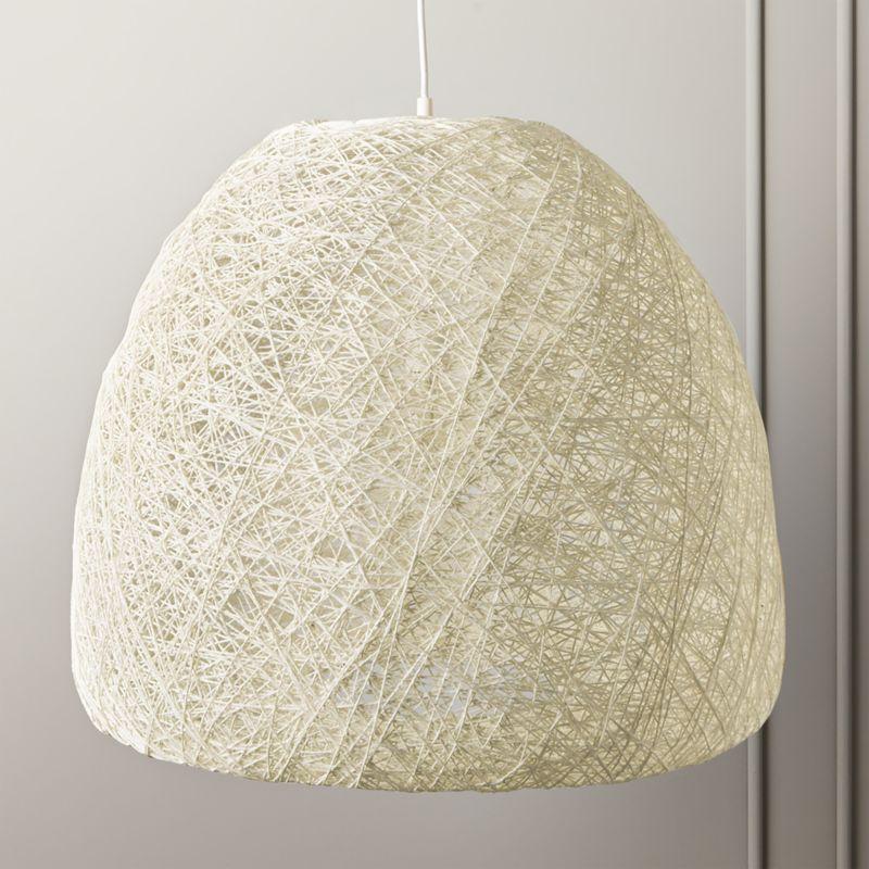 vesper string pendant light reviews cb2