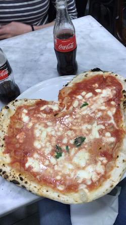 Pizza from L'Antica Pizzeria da Michele
