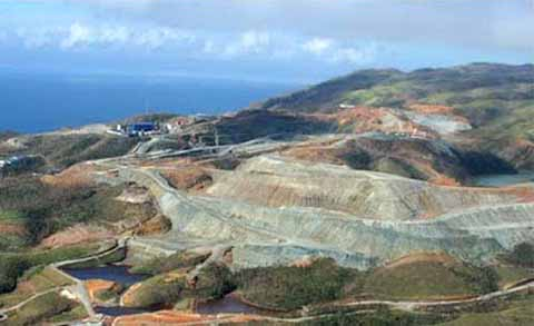 Catanduanes, Church, Renews Stand VS Coal Mining