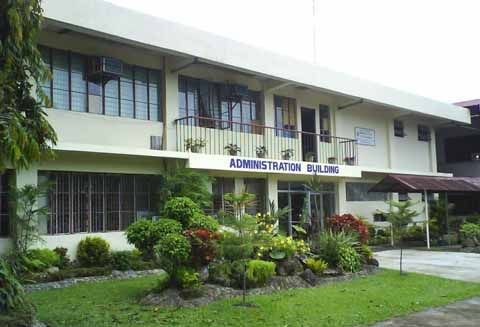 The administration building of CBSUA-Calabanga campus.