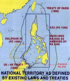 West Philippine Sea, Kalayaan, Scarborough, Miangas, Sabah, Etc.
