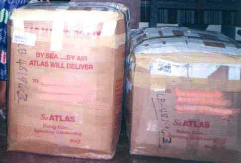 Atlas Shippers International is a popular cargo forwarder. It is not subject to sanction by the PSB-DTI.