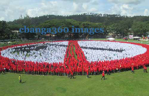 I-Witness Account of the Quest for the Largest Human No-Smoking Sign in Albay