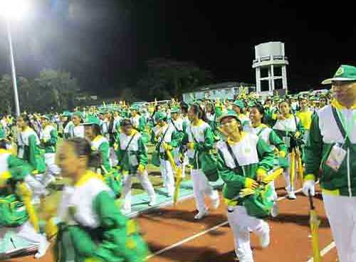 Watch replay opening of Palarong Pambansa 2016 in Albay
