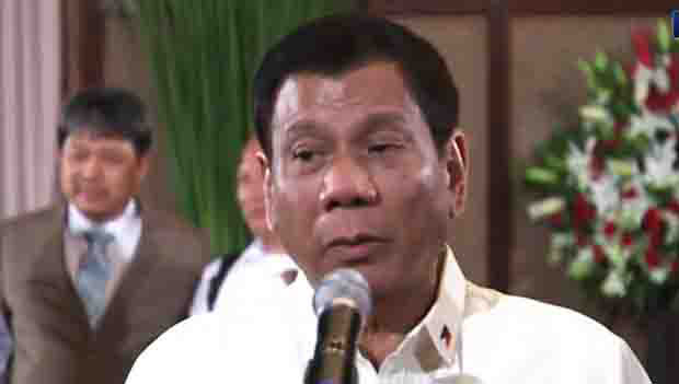 Transcript:  Media interview of President Duterte at Rizal Hall of Malacañan