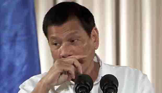 Duterte call on lawmakers to do part in changing the constitution