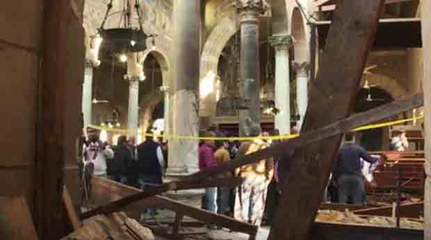 UN Security Council condemns deadly terrorist attack of Cairo Coptic Orthodox cathedral