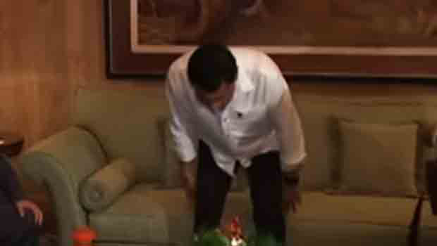 Palace confirms President Duterte has health condition, the spine thing and more