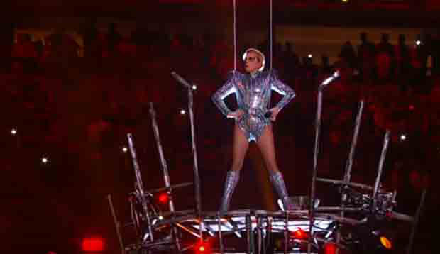 Rewatch: Lady Gaga's Exhuberant Super Bowl halftime show