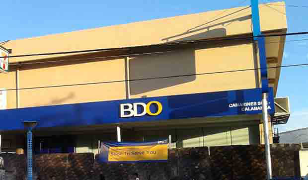 BDO Unibank registers P13B net income in first half of 2017