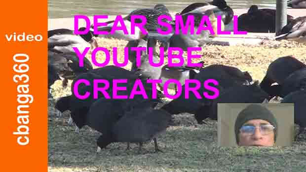 Watch Pep talk, Dear small YouTube creators like Us