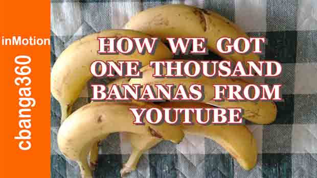Watch How We Got 1K Bananas from Youtube