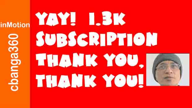 Watch Yay! Finally 1.3K Subscribers and Thank You!