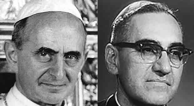 Pope Francis elevates Paul VI, Cardinal Romero to sainthood today