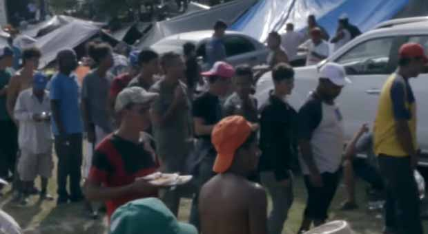 Will US troopers use force VS. caravan of Central American migrants?
