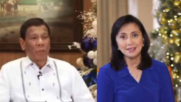 These are the Christmas 2018 messages of President Duterte and VP Robredo