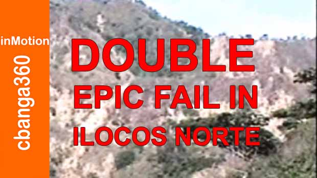 Watch Double Epic Fail in Ilocos Norte