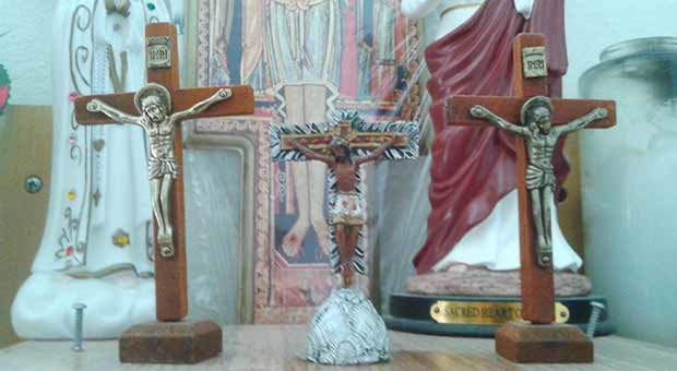 Symbols, images and icons of the Roman Catholic religion