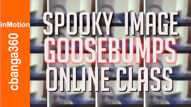 Spooky Image Scares Online Class