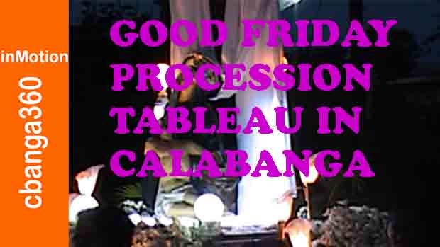 The Good Friday Procession and Tableau of Calabanga