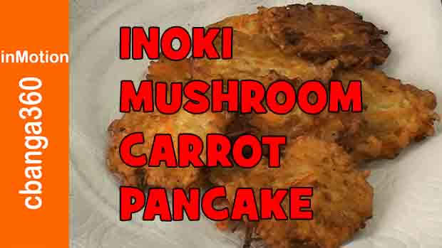 How to make Inoki Mushroom pancake, fritters