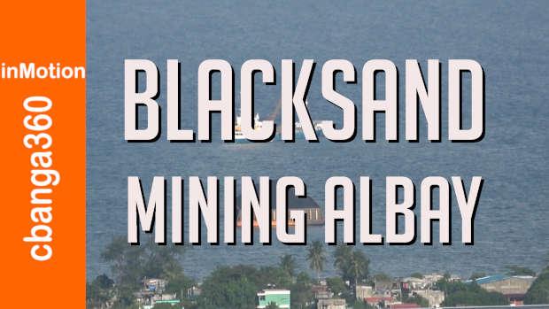 BLACK SAND MINING ALBAY